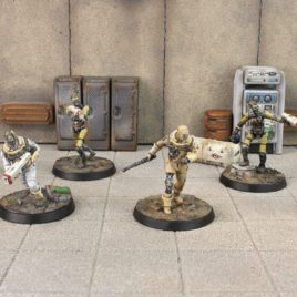 Fallout Wasteland Warfare – Institute synths