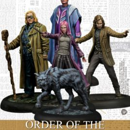 The order of the Phoenix – Harry Potter Miniatures Adventure Game
