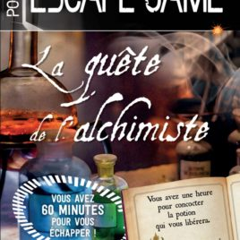 ESCAPE GAME DE POCHE : SECRETS D'ALCHIMIE